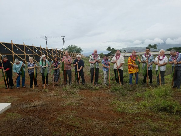 Ground Breaking Ceremony for Kihei Charter School