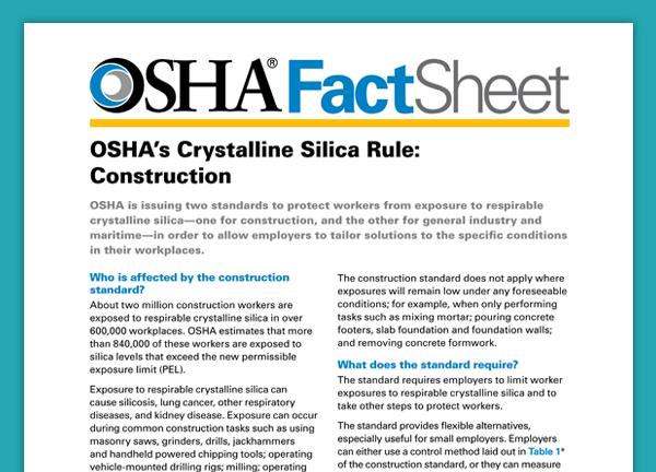 basic facts about osha